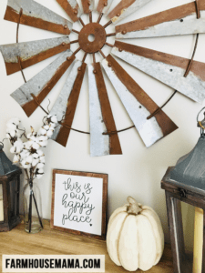 Farmhouse Entryway Decorations