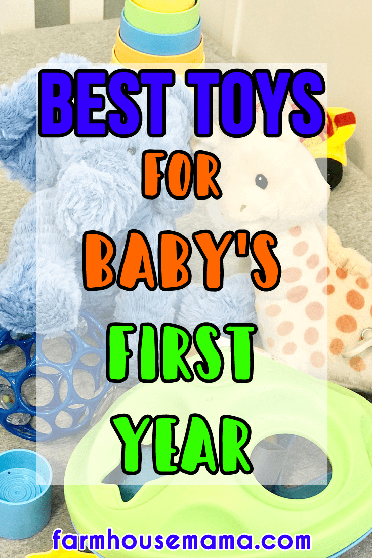 best toys for baby's first year | baby's favorite toys