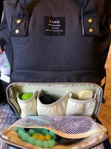 switch to a backpack diaper bag