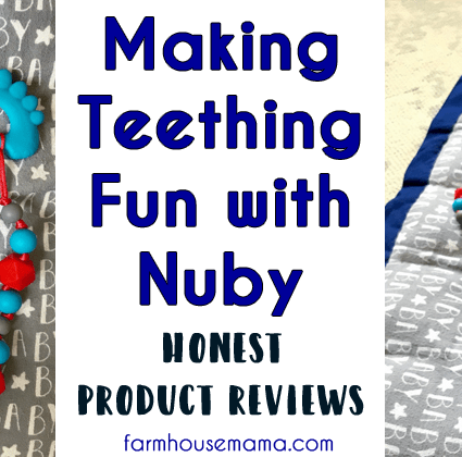 Teething Fun with Nuby Reviews of Nuby Paci Finder Nuby Teething Bracelet Nuby Teething Bib