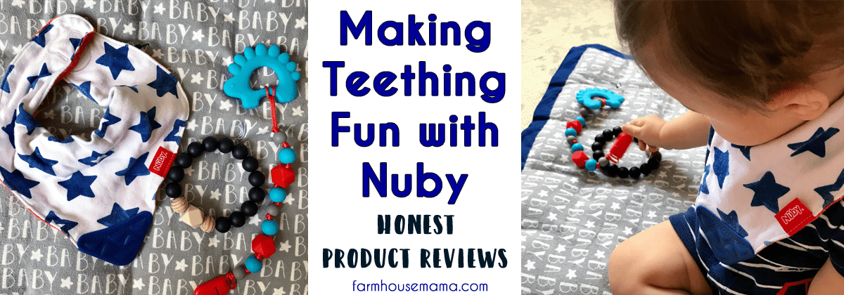 Making Teething Fun with Nuby Teethers