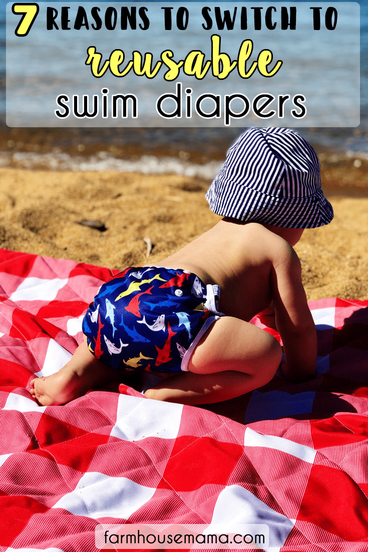 reusable adjustable swim diapers