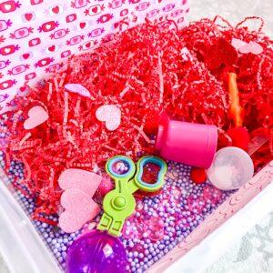 Valentines Day Sensory Bin Valentines Sensory Bin Toddler sensory bin valentines sensory activity