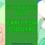 St Patricks Day Craft for Toddlers, St Patricks Day Craft, St Patricks Day activity, st patricks day craft for kids