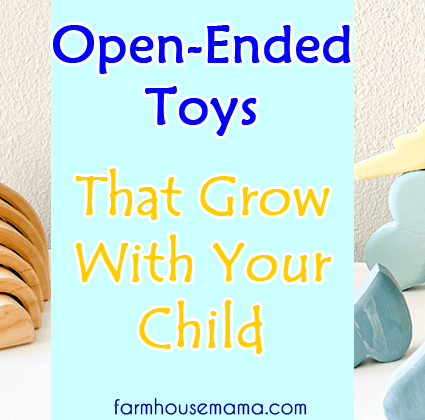 Open-Ended Toys That Grow With Your Child Natural Wooden Toys Baby Toys Toddler Toys Open-Ended Play Montessori Toys